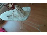 Iron + Ikea ironing board