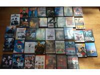 DVDs/CDs job lot