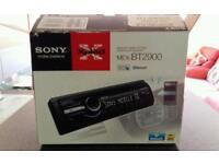 Sony xplod bluetooth car stereo