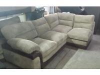 Rrp£799 rapide right hand corner sofa jumbo chord new ex photo shoot models