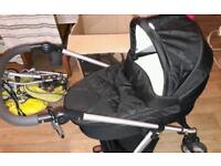 Mamas & Papas Sola pram and car seat