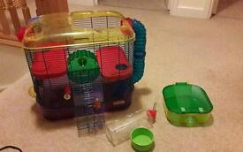 Hamster cage - excellent condition