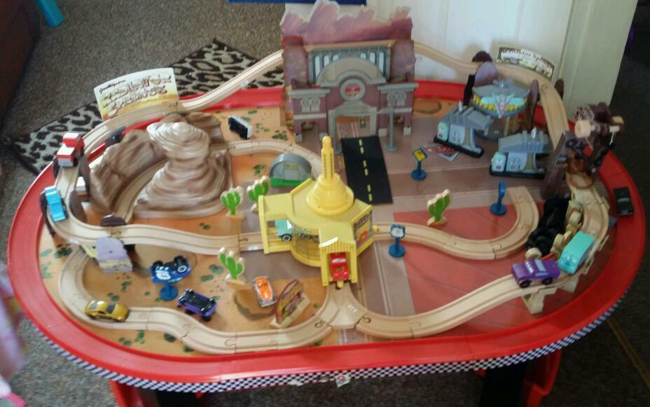 Disney Cars Play Table In Barry Vale Of Glamorgan Gumtree