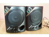 Panasonic RP-SP110 xbs active speakers, brand new and boxed