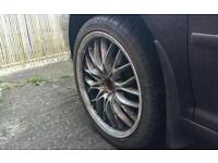 "18"" 5x100 5x114.3 multifit alloys golf a3 japan cars"