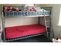 Bunkbeds with mattress