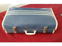 Cheney vintage travel suitcase. 1960's 70's reto
