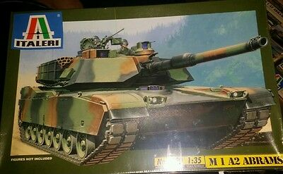 M1A2 Abrams Main Battle Tank 1:35 Italeri #6390 NEW AND SEALED!  for sale  Shipping to Canada