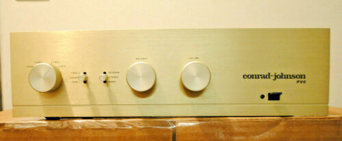 Conrad Johnson PV-6 Preamp in EXC Condition with MM Phono Stage
