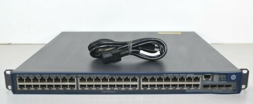 HP A5500 Series Switch JG240A A5500-48G-PoE+ with 2 Interface Slots 48-Port