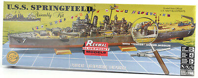 Revell USS Springfield 1/500 Plastic Model Light Cruiser Ship Kit 85-0602
