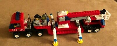 6477 Lego complete Town City Fire Fighters' Lift Truck vintage engine