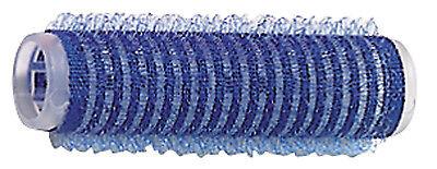 12 Haftwickler Klettwickler blau 15 mm selbsthaftend in Friseur Qualität