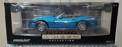 Greenlight 1/18 Blue Corvette Collection. Limited Edition