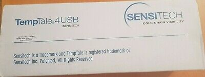 10 units lot Sensitech TempTale 4 USB Cold Chain Temperature Logger Logger 10