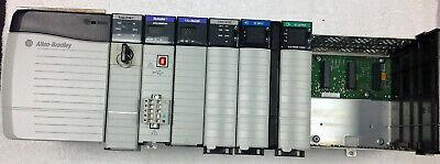 Allen-bradley Controllogix Plc System 5561 1756-l61 Processor Comms Io