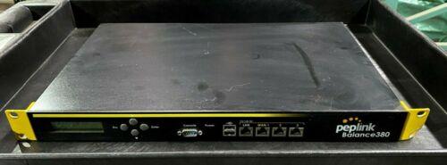 Used Peplink BPL-380 Multi-WAN Load Balance Router (v5.4.9) 1824-43DD-4937