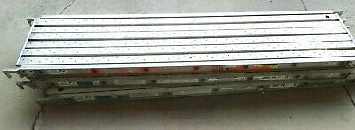 Set Of 3 Werner 5507-19 83 X 19 Aluma-plank Aluminum Scaffold Deck