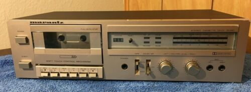 Marantz SD 221 Stereo Cassette Tape Deck *TESTED & WORKING* Silver Face