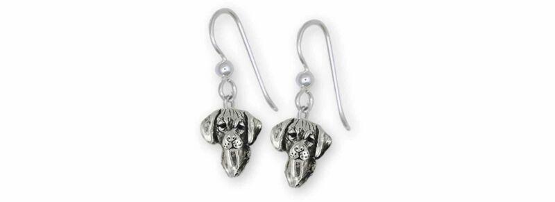 Rhodesian Ridgeback Jewelry Sterling Silver Handmade Rhodesian Ridgeback Earring