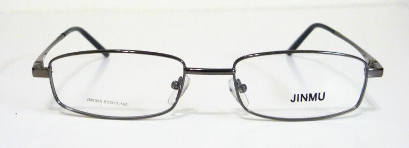 Rectangle Eye glasses metal frame 53-17-140 by Jinmu 4 Colors RTV $140--lQQI
