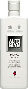 Autoglym Metal Polish Car Motorbike Motorcycle  Compound Cream Steel Chrome