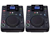 2 x Gemini CDJ-300 Decks + Numark M101 Mixer