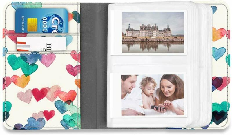 104 Pockets Photo Album Case for Fujifilm Instax Mini 9 8+ 8 70 7s 25 90 Storage