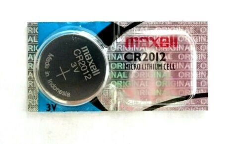 Maxell CR2012 Lithium Battery CR2012 2012  3V Fast USA Shipping