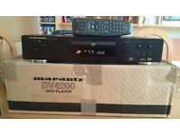 MARANTZ DV4200 CD DVD MP3 CD-RW, CD-R PLAYER + REMOTE CONTROL BOXED