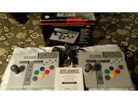 Super Nintendo SNES Advantage Sticks TWO Official arcade sticks joypad
