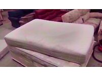 Spring and foam double mattress. Yellowed