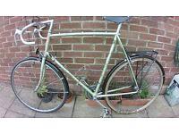 Classic Raleigh Zenith road bike