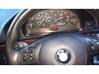 BMW 525I, BLACK LEATHER,LOW MILEAGE