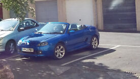 MG TF 2003 with full MOT , convertible with hard and soft top, lowish miles