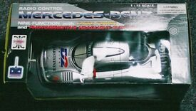 Mercedes-Benze CLK-LM 1:12 Scale Radio Controlled Car in Silver