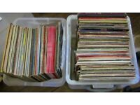 """collection of lps & 12"""" singles - 219 in total ... see description"""