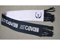 Genuine Just Cavalli Warm scarf Black/ Light Pink - Acryl