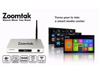 zoomtak t8h version 2 andriod tv box(sports,films and tv series )