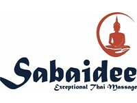Sabaidee Exceptional Thai Massage ONLY £35p/h Full Body Thai Massage