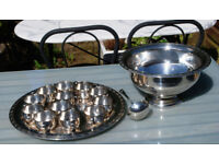 ONEIDA SILVER PLATED PUNCH SET