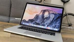 "Apple MacBook Pro 15"" - Core i7 2.0 GHz - 8 GB RAM - 160 GB SSD - OFFICE 2016, CS 7, FINAL CUT PRO"