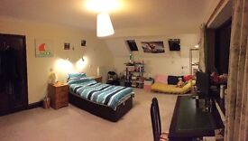 Large Double room in a country style house - unfurnished