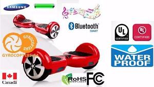 Hoverboard self balance electric scooter mini segway safest UL2272 certified entire board with bluetooth