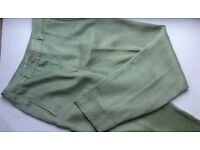 Lovely Straight leg trousers with cuff, Purificacion Garcia, Suit UK 4-6