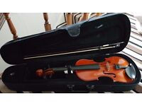 *Quick Sale Wanted £35 O.N.O* Violin, strings and music stand pack