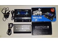 TC Helicon Play Acoustic + TC Helicon Switch-3