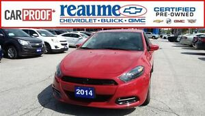 2014 Dodge Dart SXT Tinted Windows