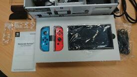 NINTENDO SWITCH (BOXED) PLUS SAMSUNG EVO 64GB PLUS 11 MASSIVE GAMES (DIGITAL)