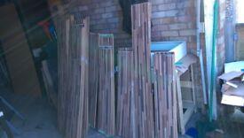 9) HB 8 mm Zebrano, Floor Boards. Moisture Resistant Laminate Flooring. C 471 595 D 2791 MO